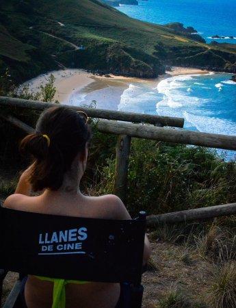 Playa de Torimbia: Qué paz..