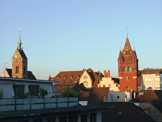 Hotel Basel: View from Room 516