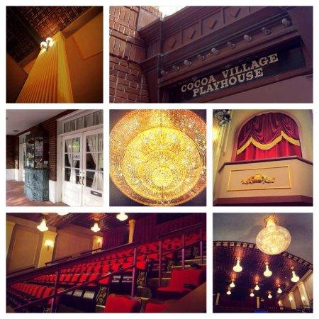 Cocoa, Flórida: Photo collage of recent renovations.