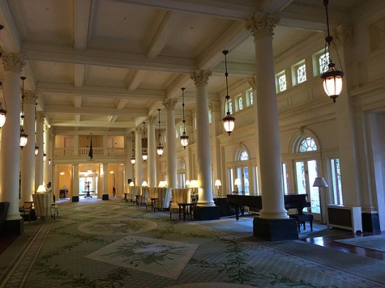 Hot Springs, VA: The Great Hall