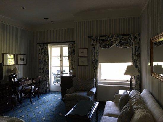 Hot Springs, VA: Room 1286- a junior suite with a balcony