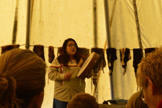 Saint-Louis-de-Kent, Canada: Native stories and songs