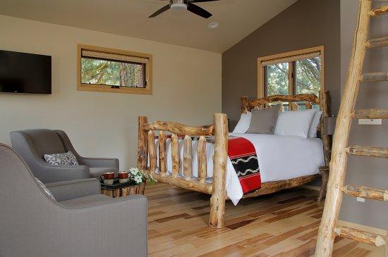 Mill Creek, Kalifornien: Timber Ridge studio cottage for 2.