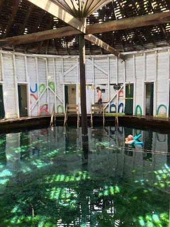 Hot Springs, VA: The Jefferson Pools- men's pool