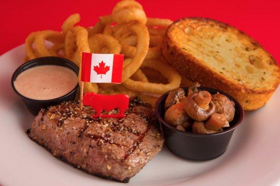 Sherwood Park, Canada: Steak sandwich
