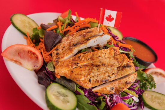 Sherwood Park, Canada: Salad