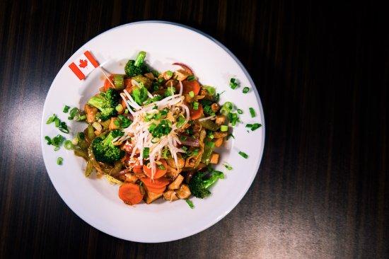 Sherwood Park, แคนาดา: Stir fry