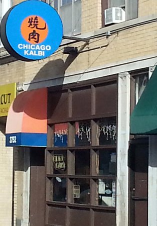 Front Of Chicago Kalbi Korean Restaurant Picture Of