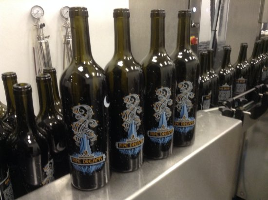 Lodi, CA: Our Pipe Dreams Wine being Bottled!