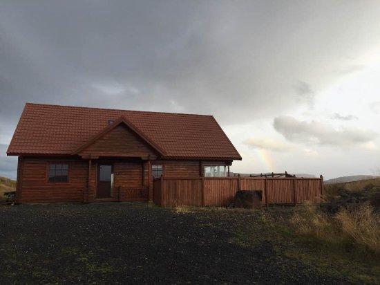 Stykkisholmur, Islandia: rainbow greeting