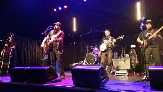 Amstelveen, Paesi Bassi: Bob Wayne and the band