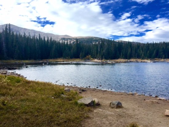Ward, CO: Lake Brainard lake view