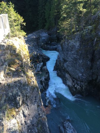 Pemberton, Canada: River below falls
