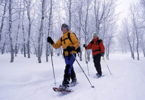 Chagrin Falls, OH: Snowshoe rental available