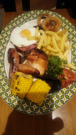Harvester Woodside: Mixed grill!