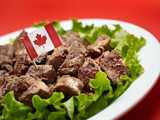 Abbotsford, Canadá: Steak bites
