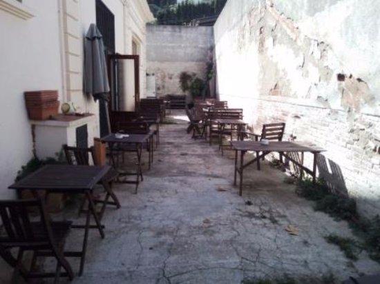 Premia de Dalt, สเปน: Terraza exterior