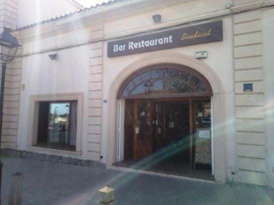 Premia de Dalt, สเปน: Entrada restaurante