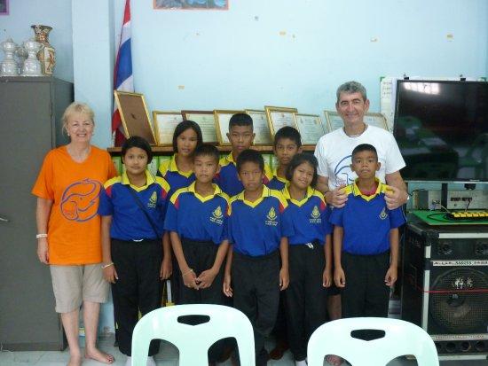 Bang Rachan, Thailand: years 5-6 at Wat Wang Khon Temple School