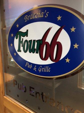 Four 66 Newbury St Pub: Sign
