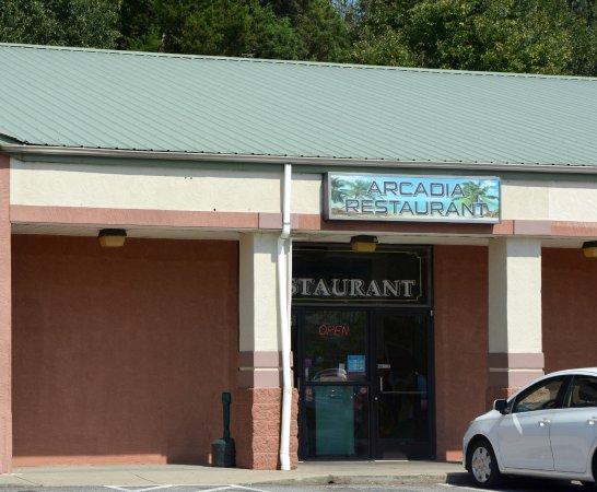 Lincolnton, Северная Каролина: Small Strip Mall