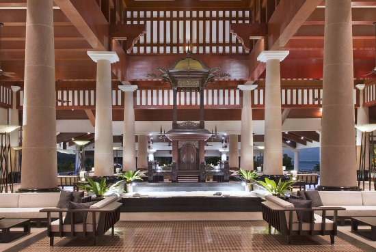 Tepian Laut: Lobby of the resort