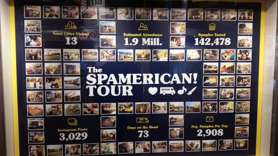 Austin, MN: One SPAM tour and, counting...