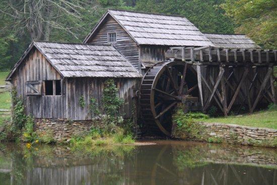 Meadows of Dan, VA: The mill