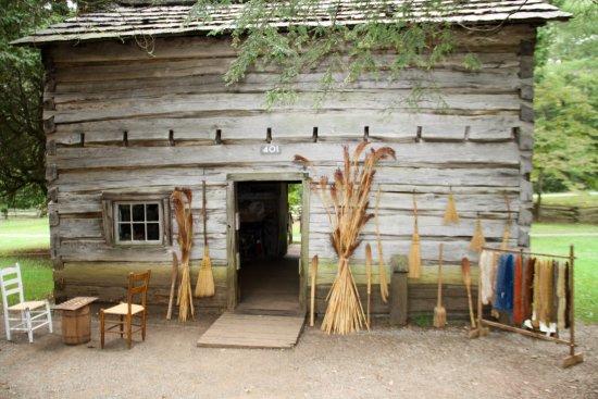 Meadows of Dan, VA: The weaving building