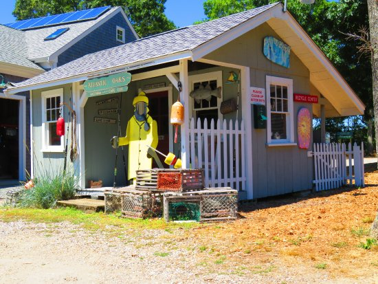 Atlantic Oaks Campground: Picture Shed