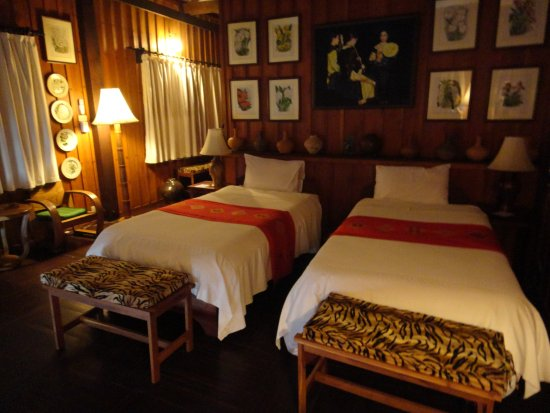 Champasak, Laos: The VIP Residence Bed Room