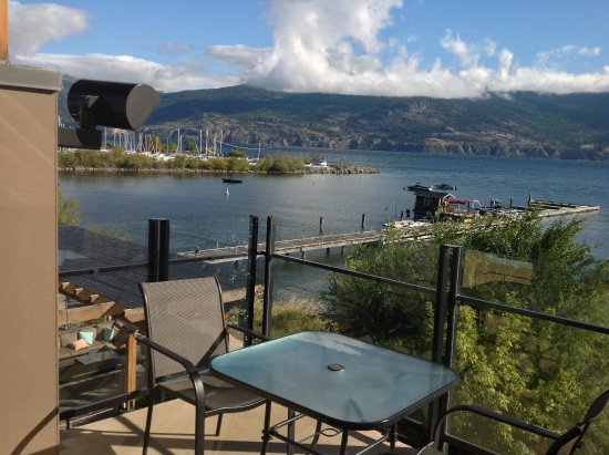 Summerland, Canada: View from balcony
