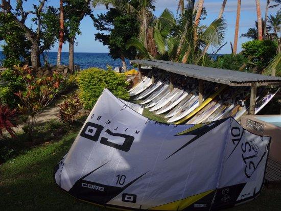 Safari Island Lodge: equipment