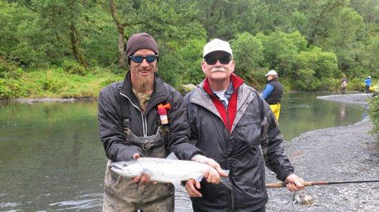 Kodiak, AK: pink salmon
