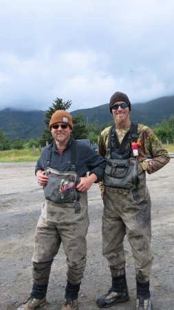 Kodiak, AK: Our guides to a good time:Jason & Justin-knowledgeable, dependable, experienced & fun!