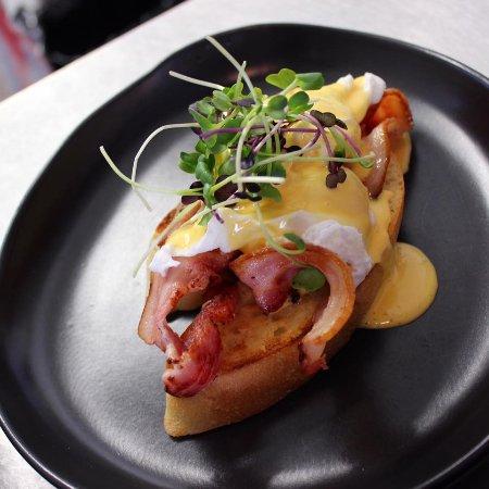 Motueka, Nouvelle-Zélande : Eggs Benedict