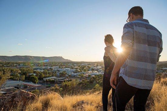 Anzac Hill in Alice Springs