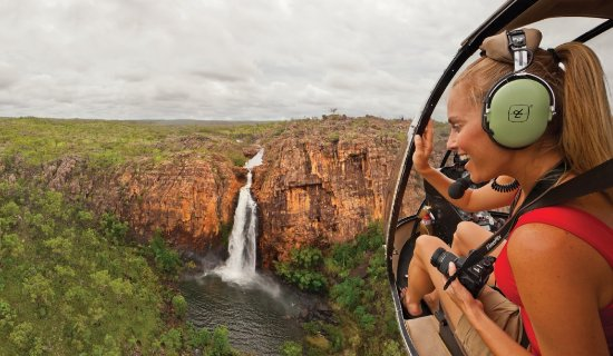 Northern Territory, Australia: Helicopter flight over Katherine Gorge