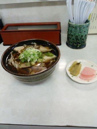 Hidaka-cho, Japón: おすすめの肉そば 800円
