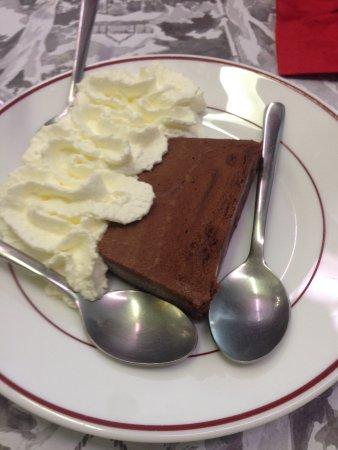 Доле, Франция: Chocolate mousse terrine