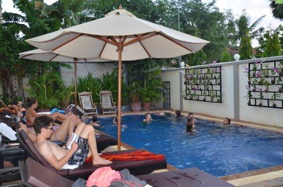 Bliss Villa: Pool Area