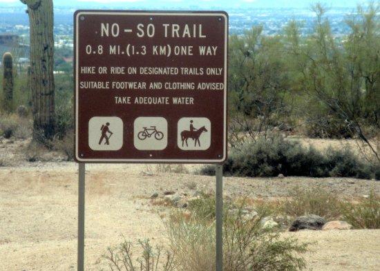 No-So Trail, Usery Mountain Regional Park, Mesa, Az