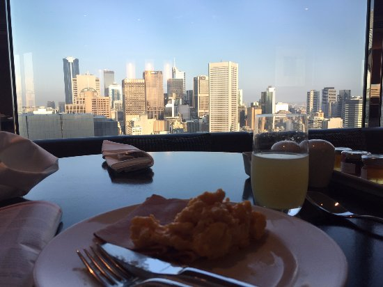 Grand Hyatt Melbourne: Breakfast in the club room