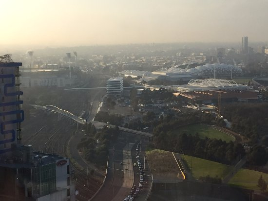 Grand Hyatt Melbourne: The MCG, AAMI Park and Rod Laver Arena