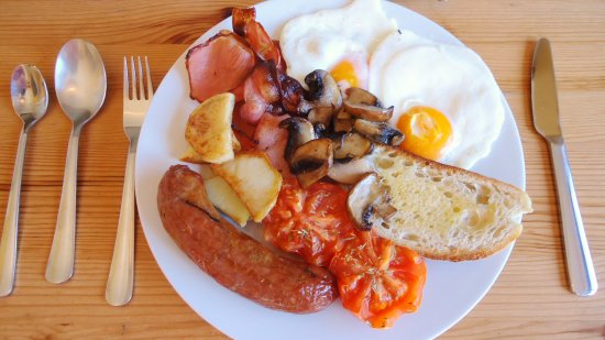 Dover, Australien: Full English breakfast