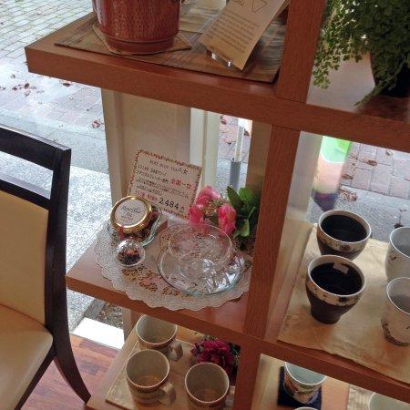 Chikugo, Jepang: 店内(茶器などのコーナー)