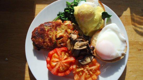 Dover, أستراليا: Vegetarian breakfast