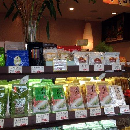 Chikugo, Jepang: 店内(和菓子&日本茶のコーナー)