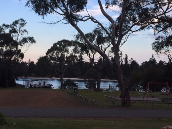Orford, Austrália: View from the back of the bistro