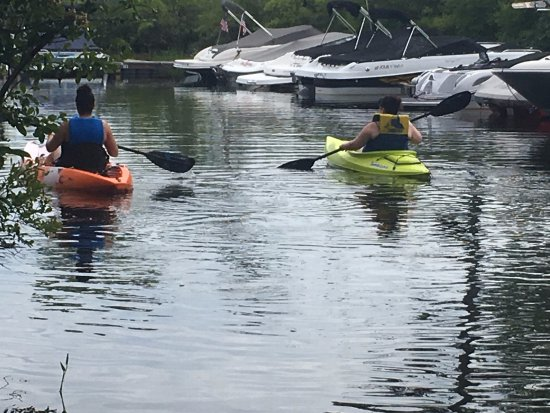 Naples, ME: Peaceful kayak area